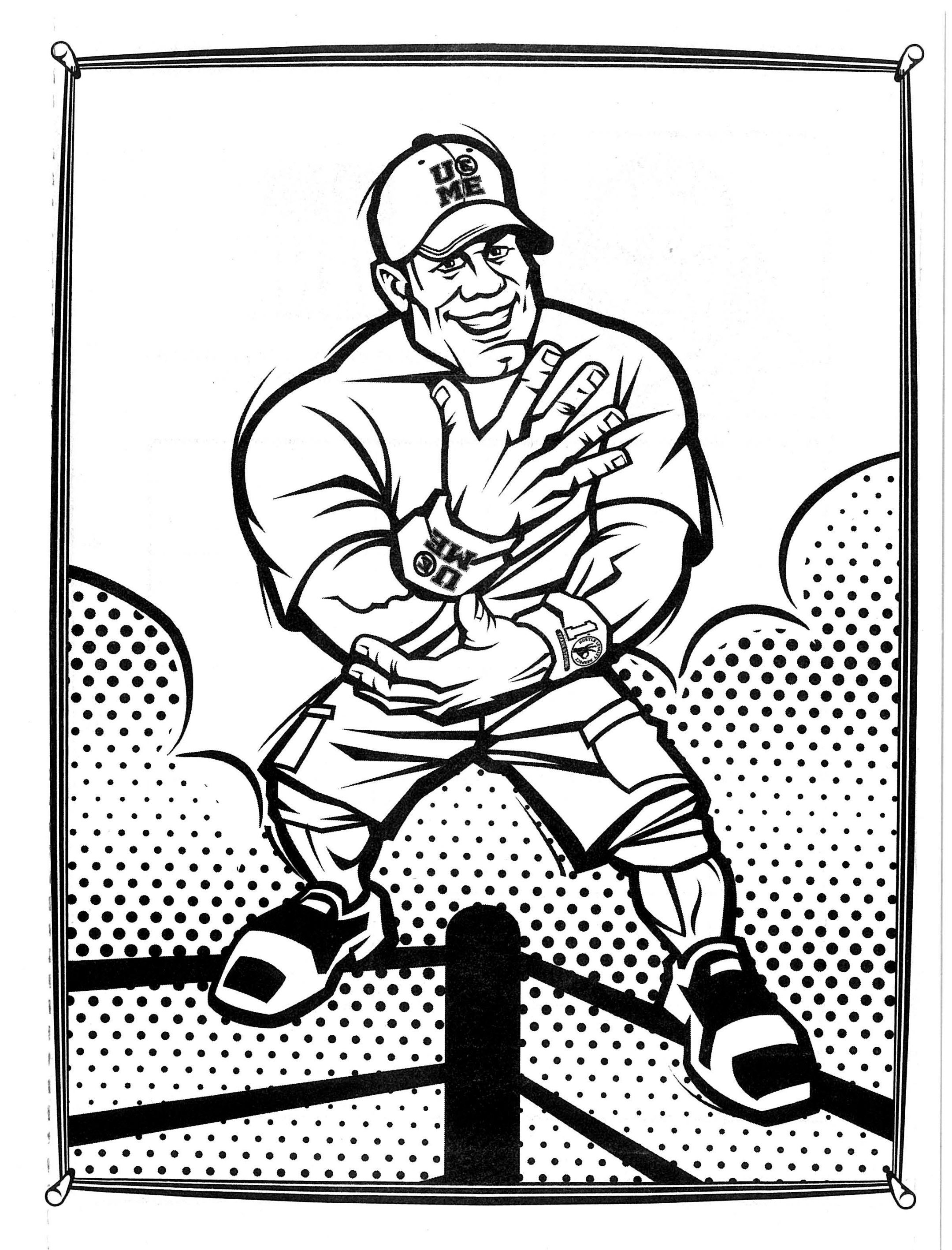 coloring pages wwe free printable wwe coloring pages for kids wwe coloring pages wwe coloring