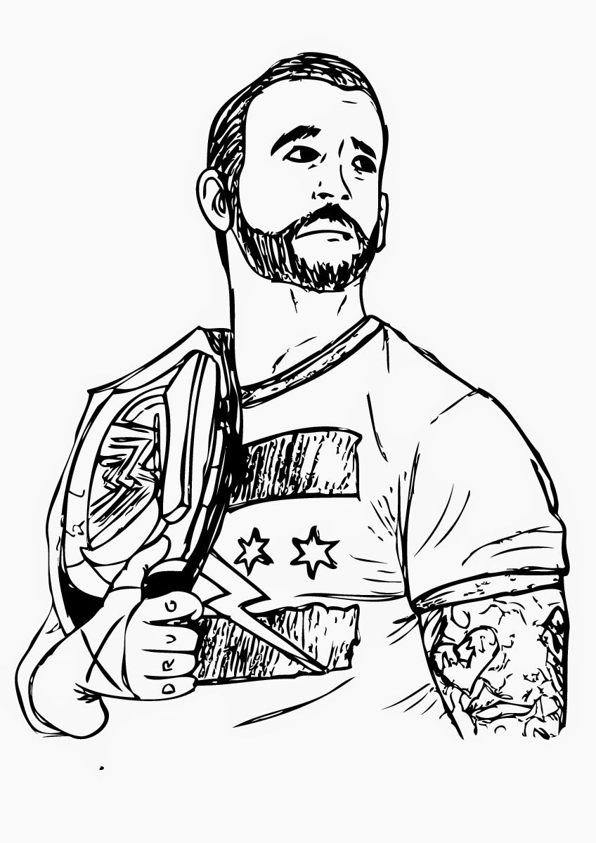 coloring pages wwe wwe drawing at getdrawingscom free for personal use wwe pages coloring wwe