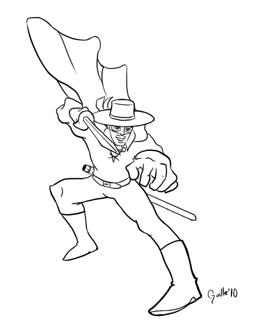 coloring pages zorro zorro animals town zorro coloring pages