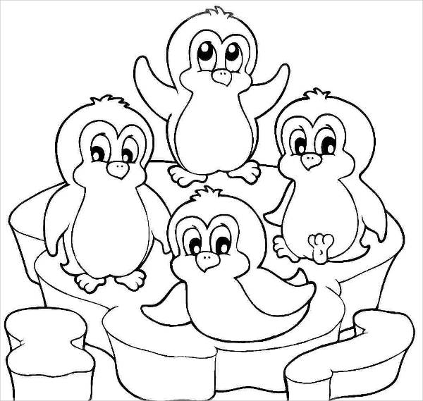 coloring penguin free printable penguin coloring pages for kids penguin coloring