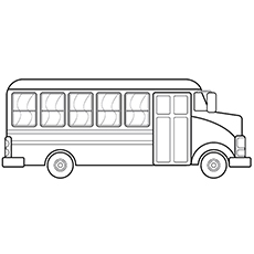 coloring picture of a bus 13 best bus coloring pages images on pinterest kids net bus coloring a picture of