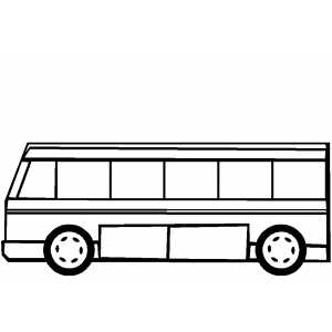 coloring picture of a bus bus coloring page of coloring a picture bus