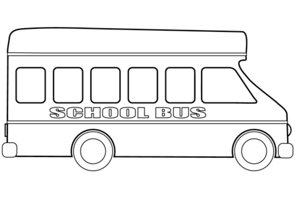 coloring picture of a bus bus coloring pages a picture bus coloring of