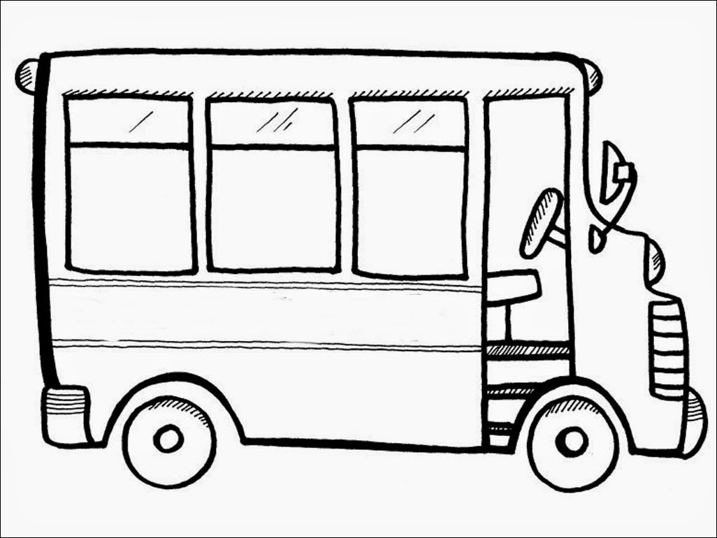coloring picture of a bus bus coloring pages coloring picture of bus a