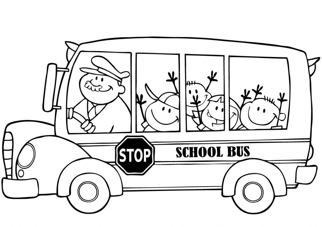 coloring picture of a bus bus stop coloring pages at getcoloringscom free a coloring picture bus of