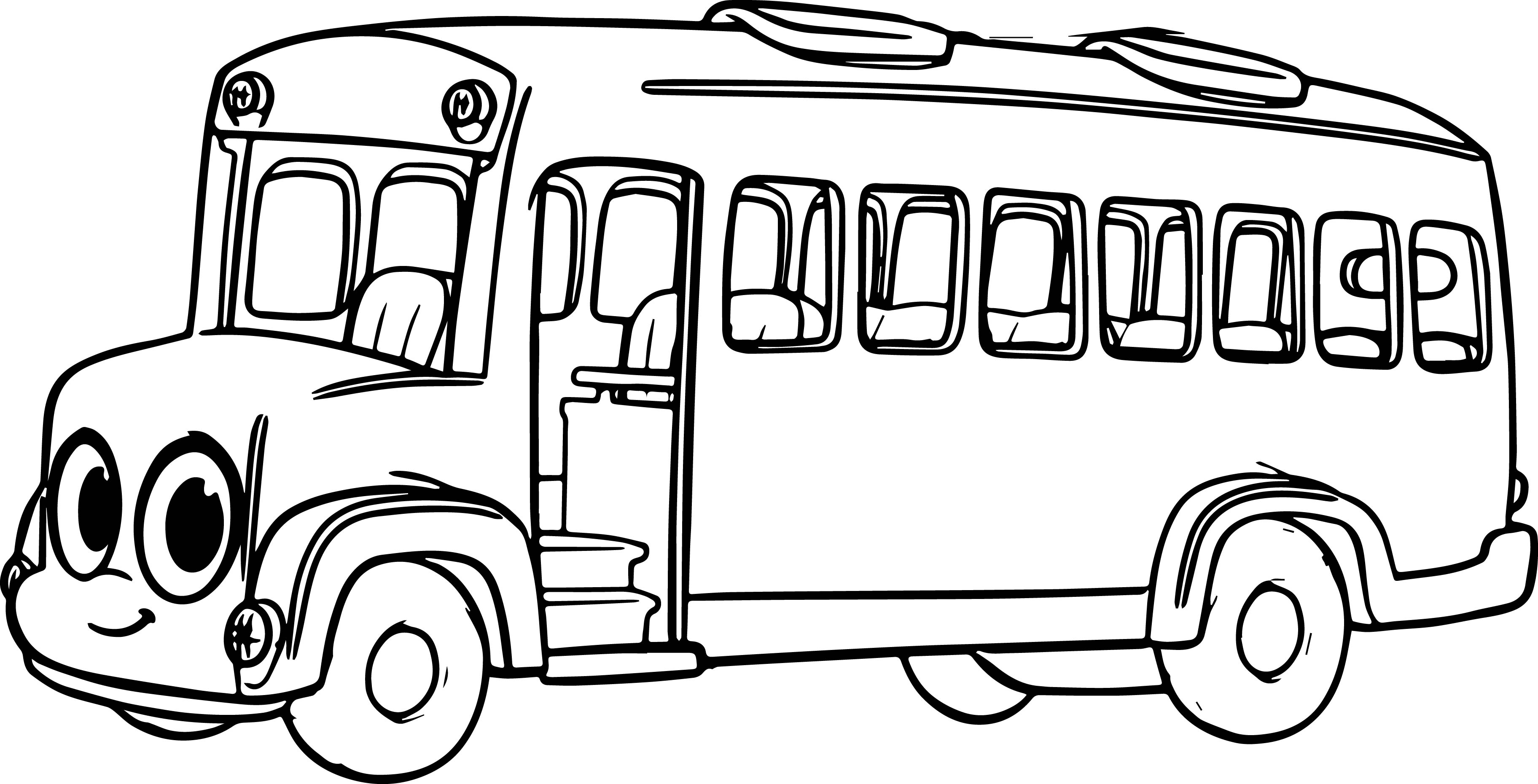coloring picture of a bus free printable school bus coloring pages for kids of picture a coloring bus