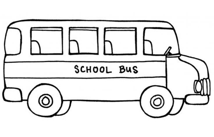coloring picture of a bus printable school bus coloring page for kids cool2bkids a picture of coloring bus 1 1