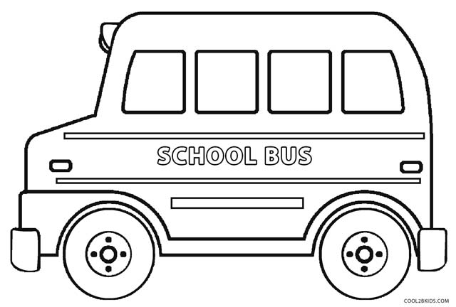 coloring picture of a bus printable school bus coloring page for kids cool2bkids bus a picture coloring of