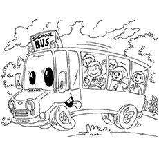coloring picture of a bus top 10 free printable school bus coloring pages online bus of coloring picture a