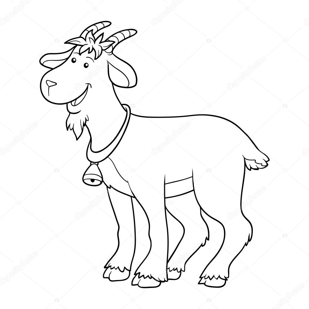 coloring picture of a goat free printable coloring pages part 18 of goat coloring a picture