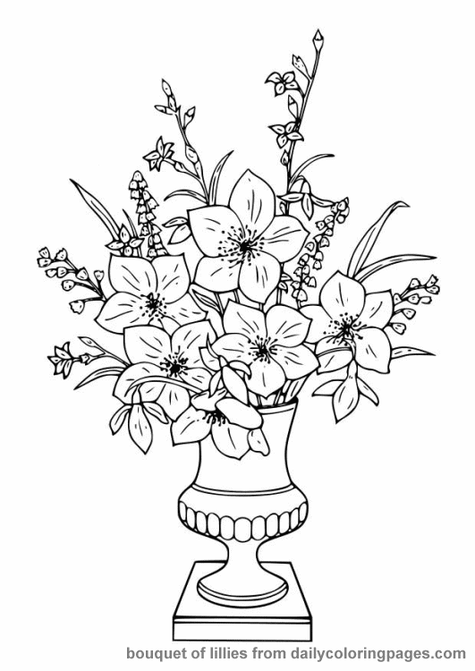 coloring picture of flower advanced flower coloring pages flower coloring page flower coloring picture of