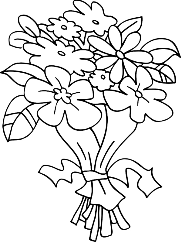 coloring picture of flower free printable flower coloring pages for kids best picture coloring flower of