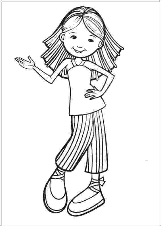 coloring picture of girl kids n funcom 65 coloring pages of groovy girls coloring girl picture of