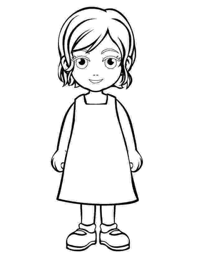 coloring picture of girl kids n funcom 65 coloring pages of groovy girls girl picture of coloring
