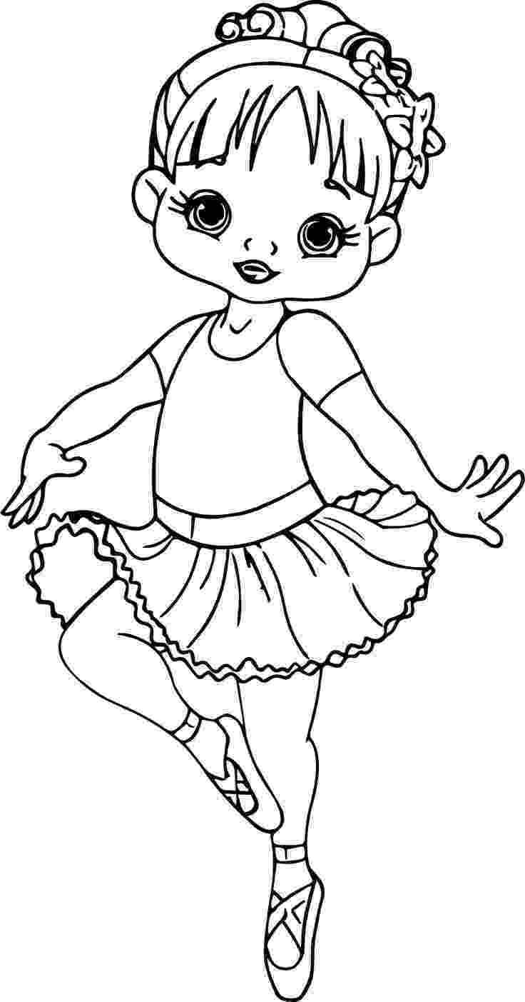 coloring picture of girl little girl coloring pages getcoloringpagescom of coloring girl picture