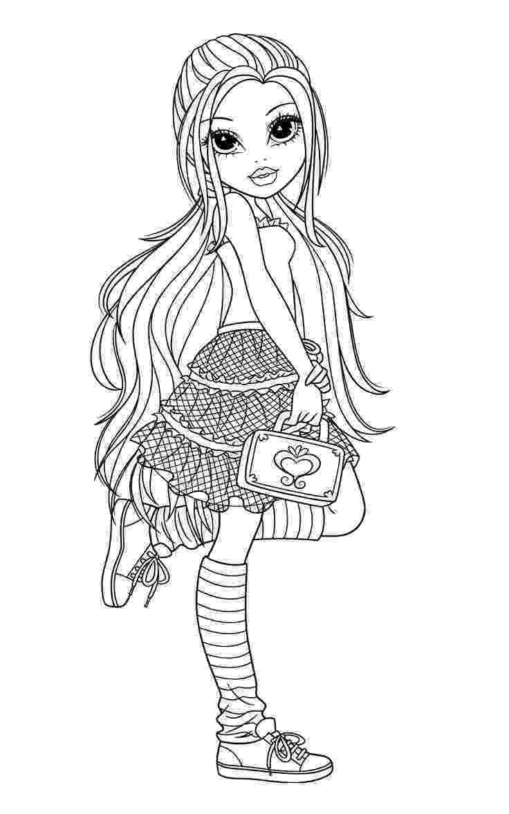 coloring picture of girl moxie girlz coloring pages card ideas coloring pages girl of coloring picture