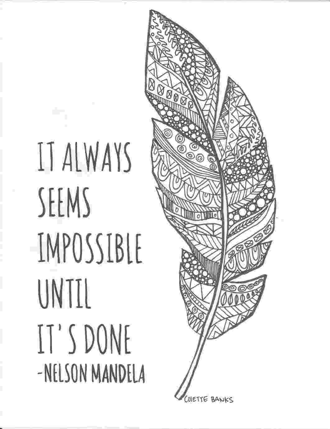 coloring picture quotes inspirational quotes coloring pages for adults picture quotes coloring