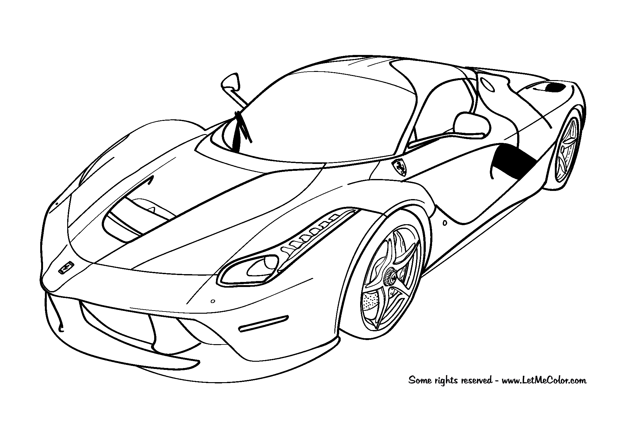 coloring pictures of cars car coloring pages free download coloring of pictures cars