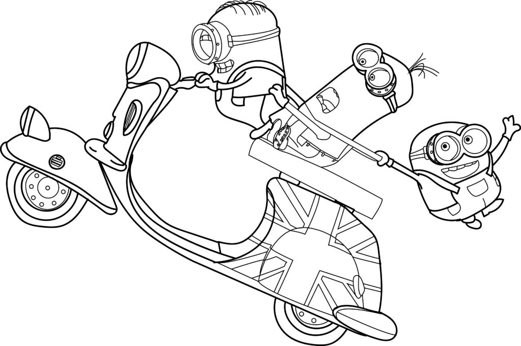 coloring pictures of minions minion coloring pages best coloring pages for kids coloring pictures minions of 1 1