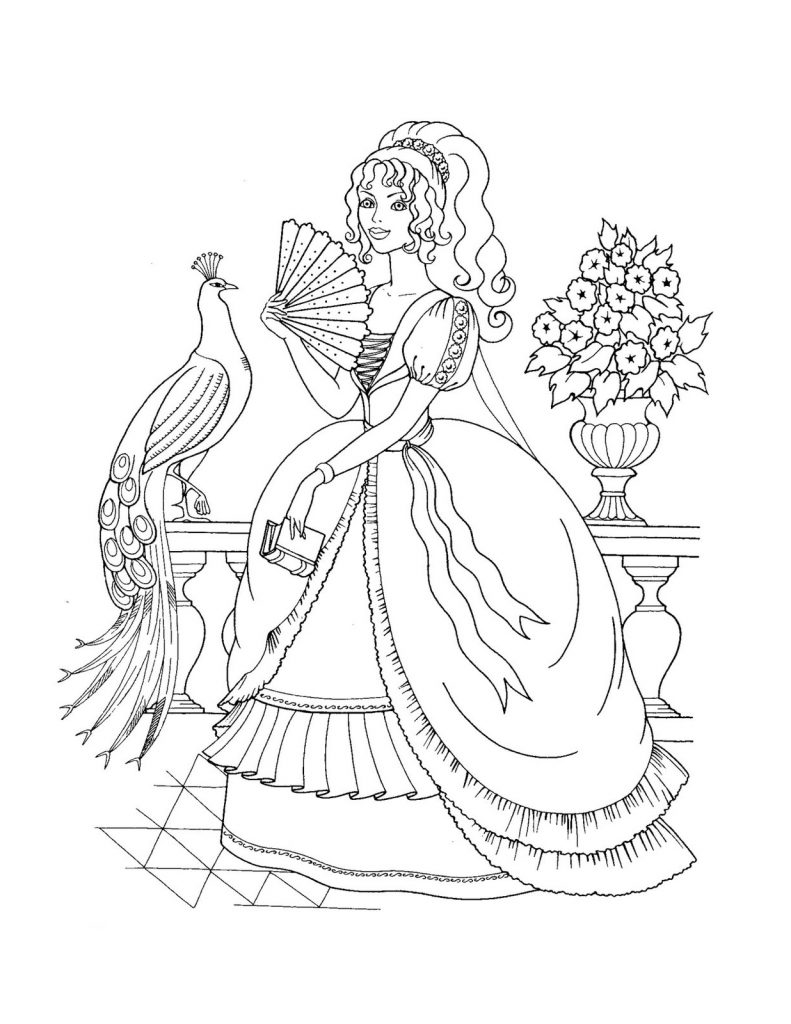 coloring pictures of princesses princess coloring pages best coloring pages for kids pictures of princesses coloring 1 1