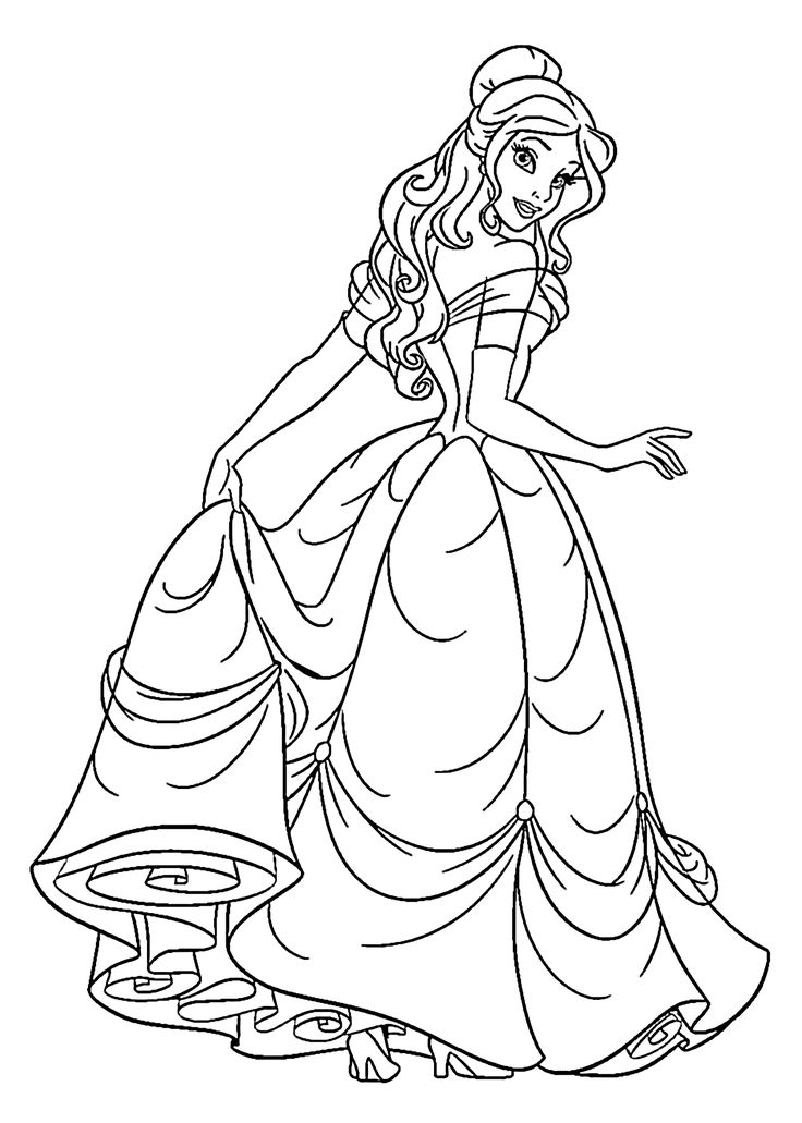 coloring pictures of princesses princess coloring pages best coloring pages for kids pictures princesses coloring of