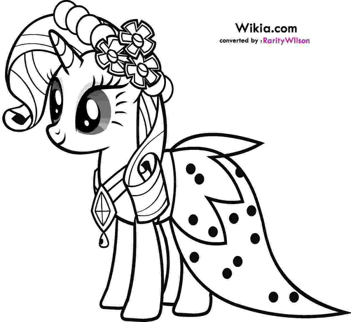 coloring pony my little pony rarity coloring pages team colors coloring pony