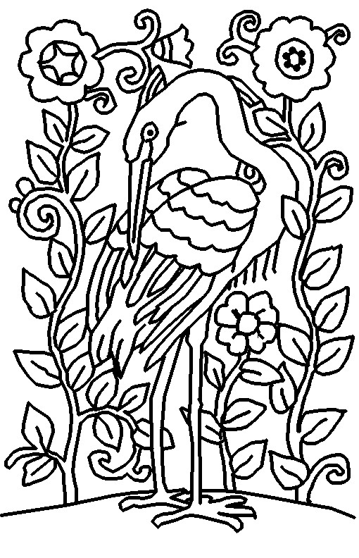coloring printables coloring page world heron portrait printables coloring