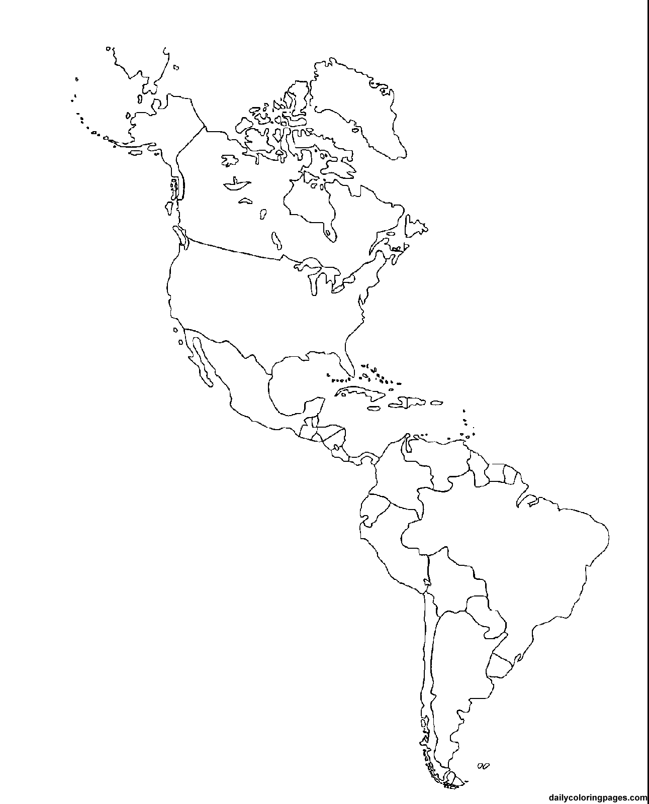 coloring sheet of north america north america map coloring page 2015 summer enrichment sheet north of america coloring