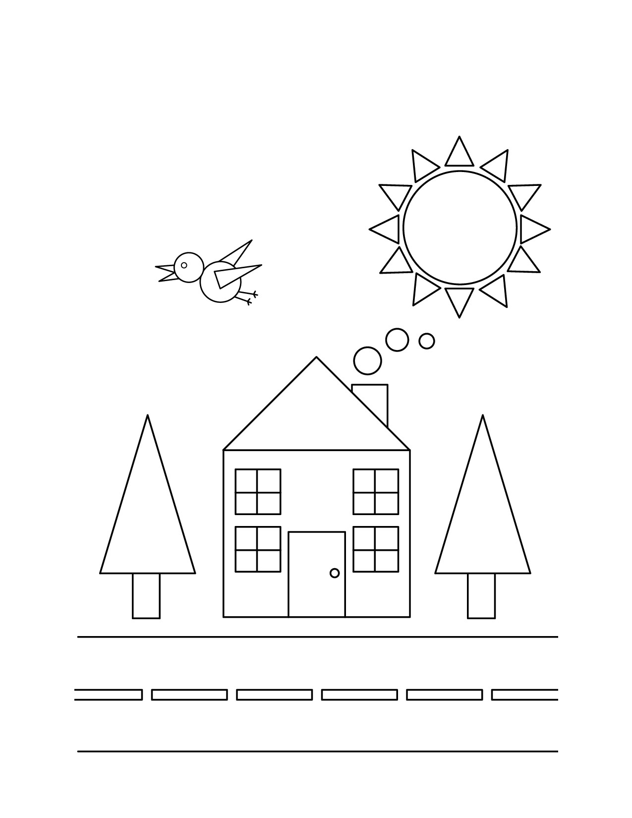 coloring sheet with shapes 3 dimensional shapes drawing at getdrawingscom free for coloring shapes sheet with