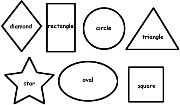coloring sheet with shapes drawing basic shapes coloring page netart with coloring shapes sheet