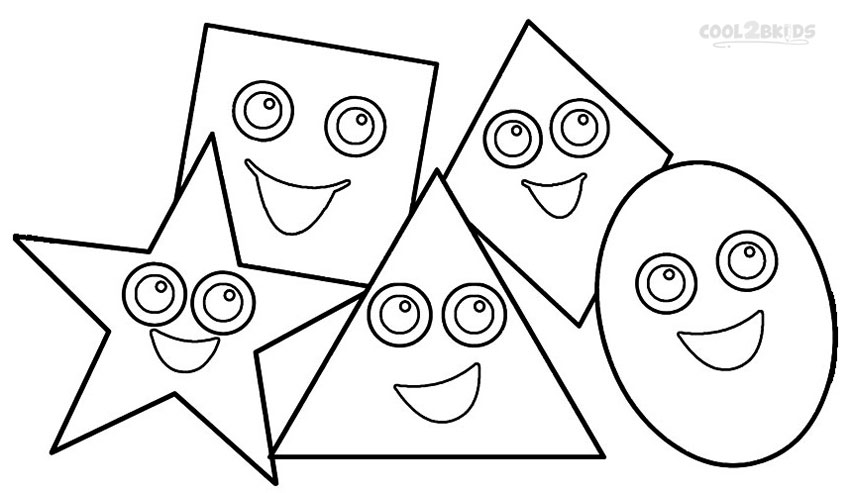 coloring sheet with shapes printable shapes coloring pages for kids cool2bkids coloring with sheet shapes