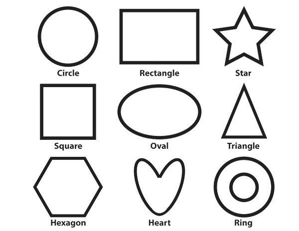 coloring sheet with shapes rectangle coloring pages for preschoolers at getcolorings sheet with coloring shapes