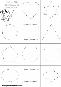 coloring sheet with shapes shapes coloring pages printable the neighborhood moms coloring sheet with shapes