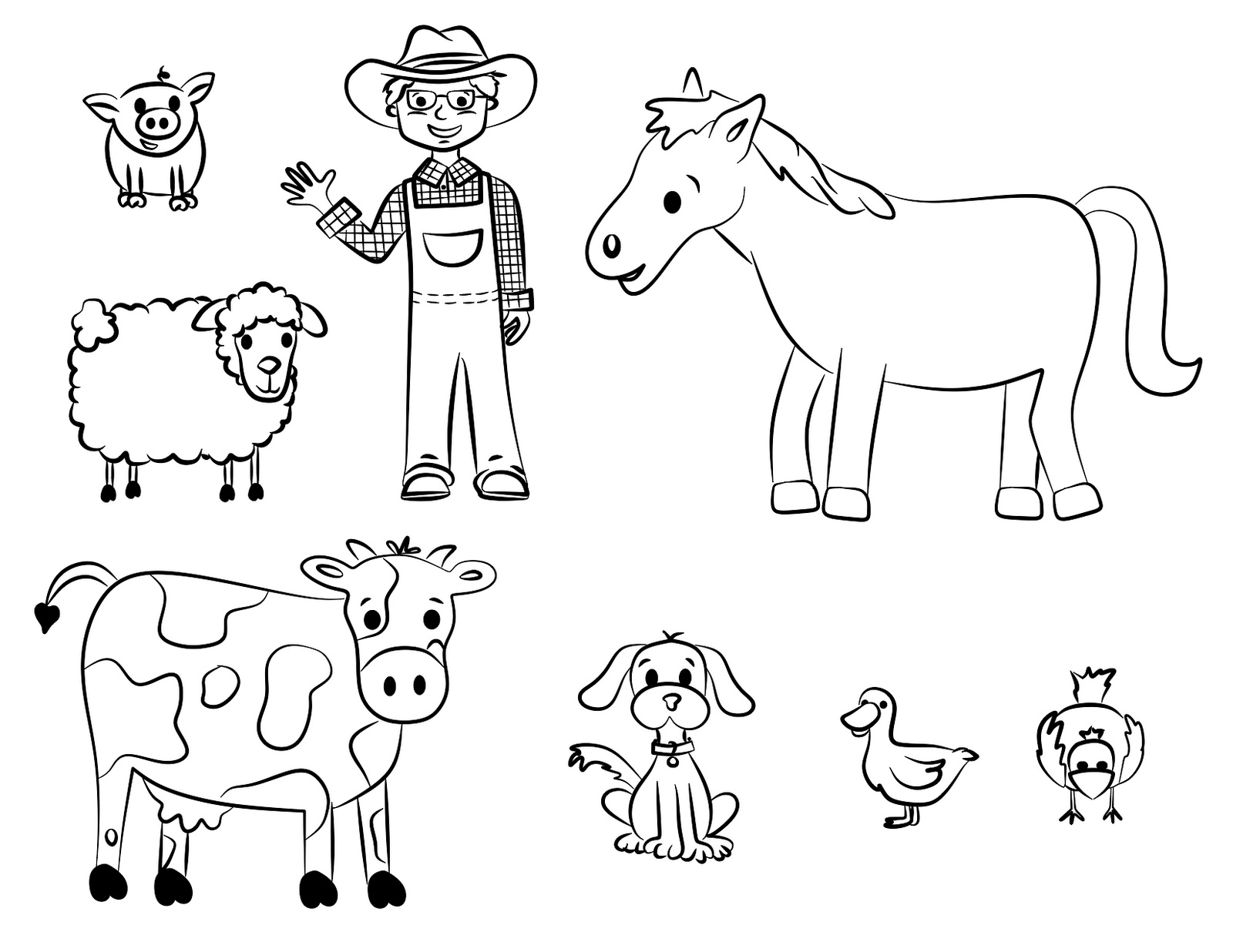 coloring sheets farm animals 35 baby farm animals coloring pages all baby farm animal sheets farm animals coloring