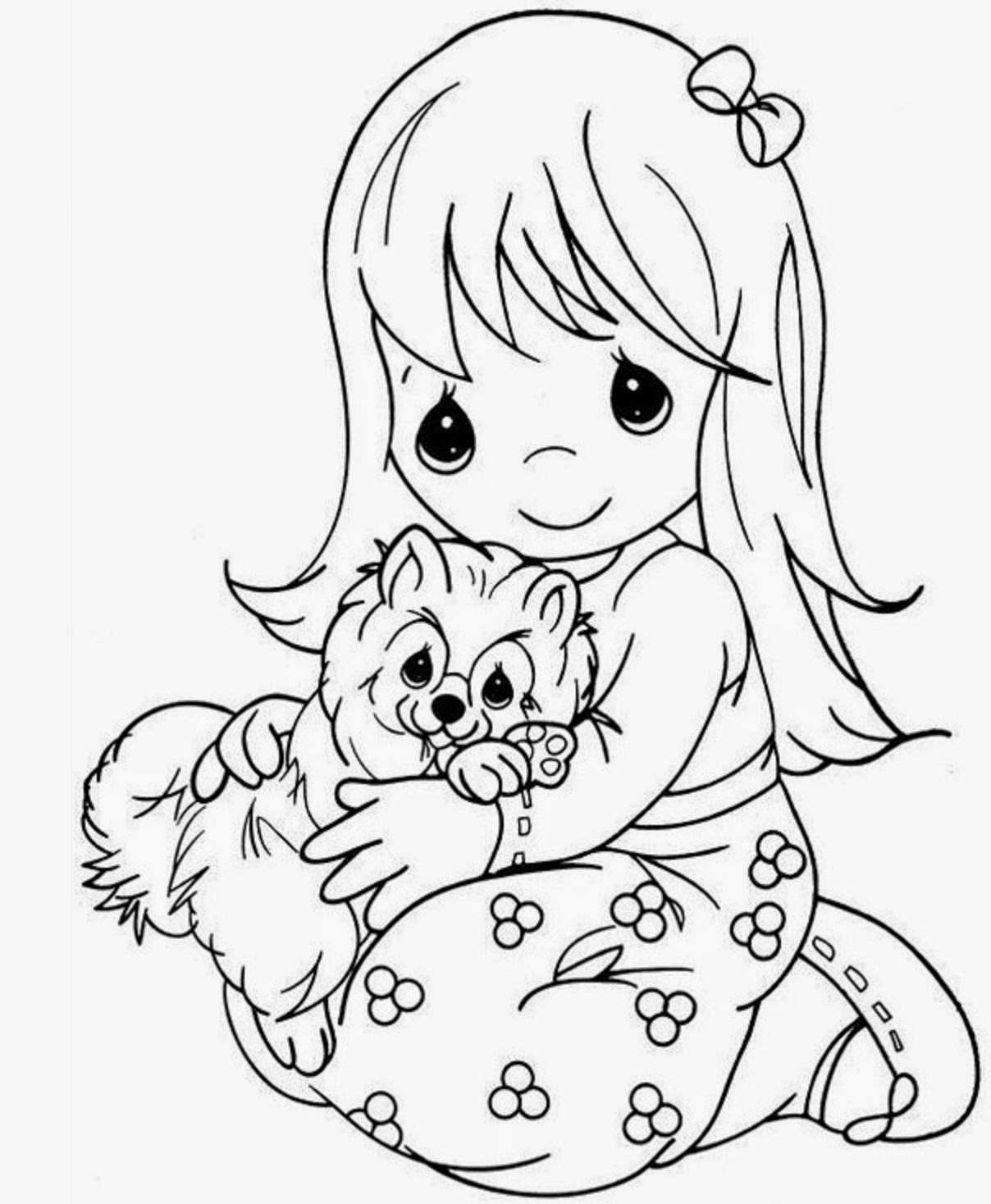 coloring sheets for girls colours drawing wallpaper beautiful precious moments girl girls coloring sheets for