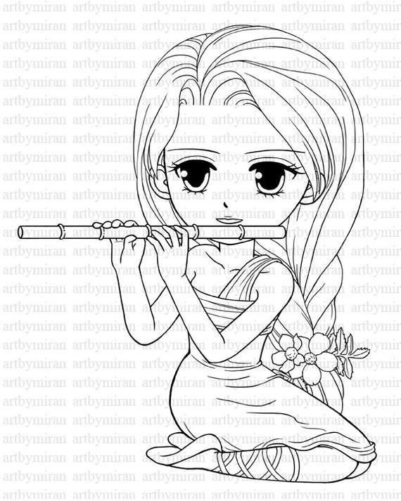 coloring sheets for girls digi stamp serenade pretty girl coloring page big by sheets coloring for girls