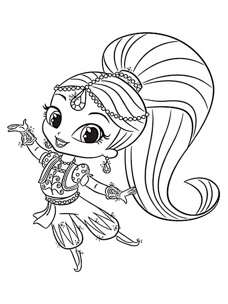 coloring shimmer and shine shimmer and shine coloring pages best coloring pages for shine coloring shimmer and