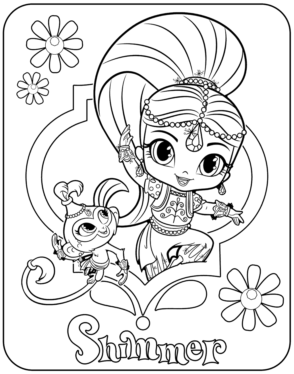coloring shimmer and shine shimmer and shine coloring pages of 2017 and shine coloring shimmer