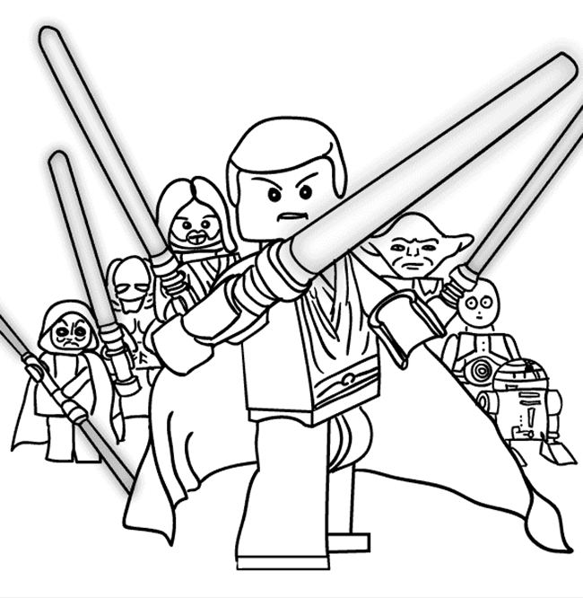 coloring star wars create your own lego coloring pages for kids star coloring wars