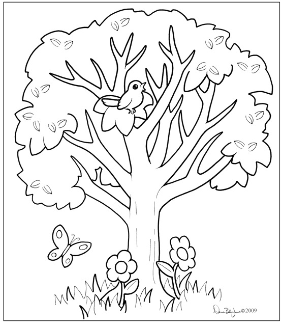 coloring trees coloring book familiar oddlings coloring trees