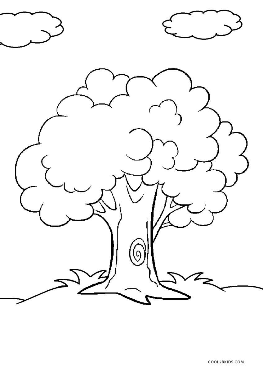 coloring trees free printable tree coloring pages for kids coloring trees 1 1
