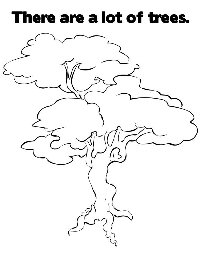 coloring trees free printable tree coloring pages for kids coloring trees 1 3