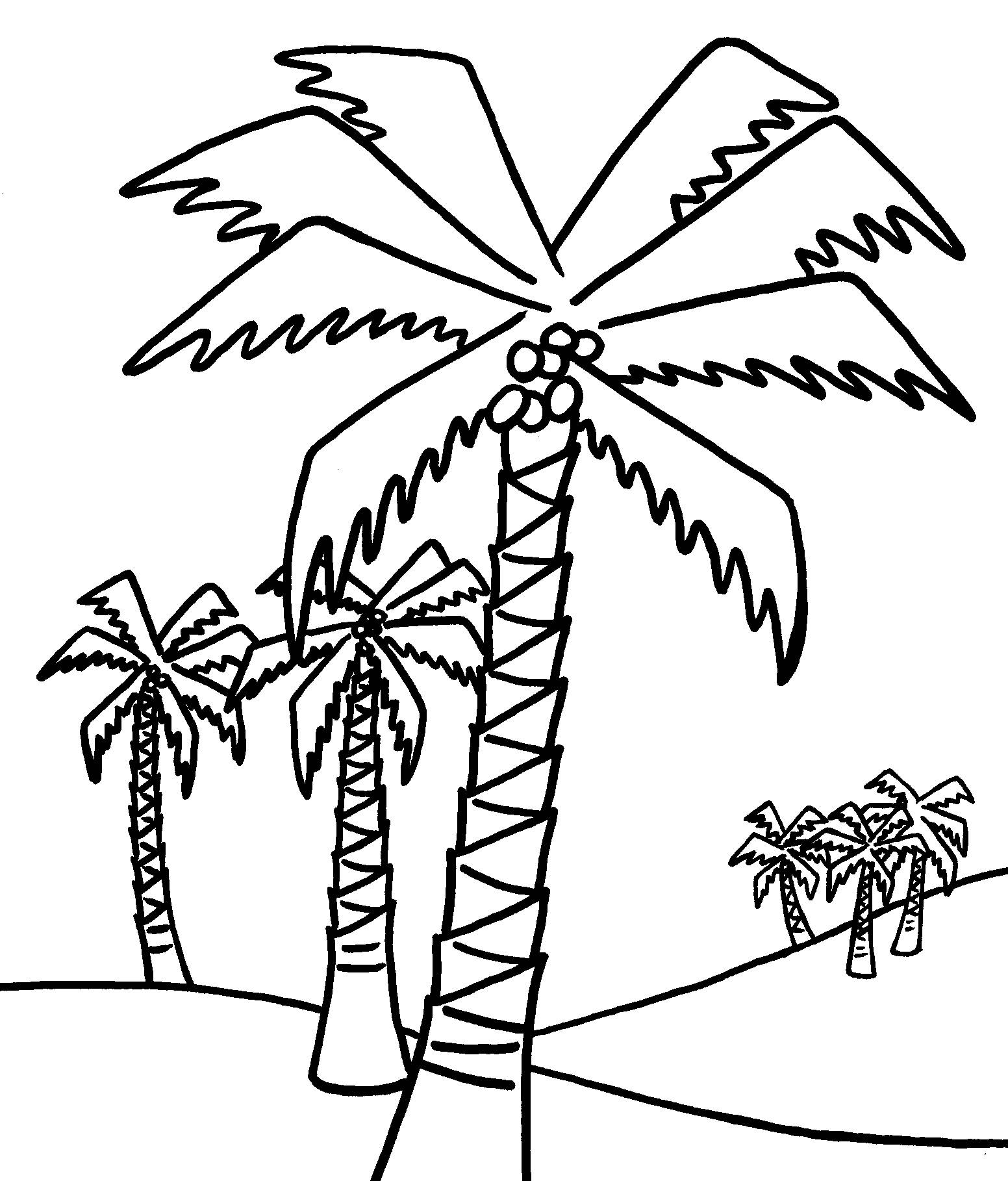 coloring trees free printable tree coloring pages for kids coloring trees 1 4