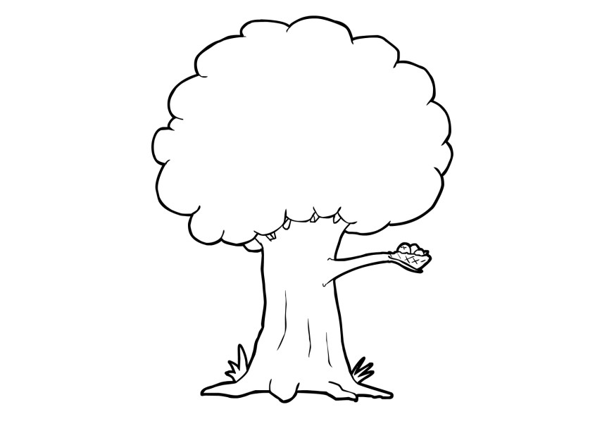 coloring trees free printable tree coloring pages for kids cool2bkids coloring trees 1 3