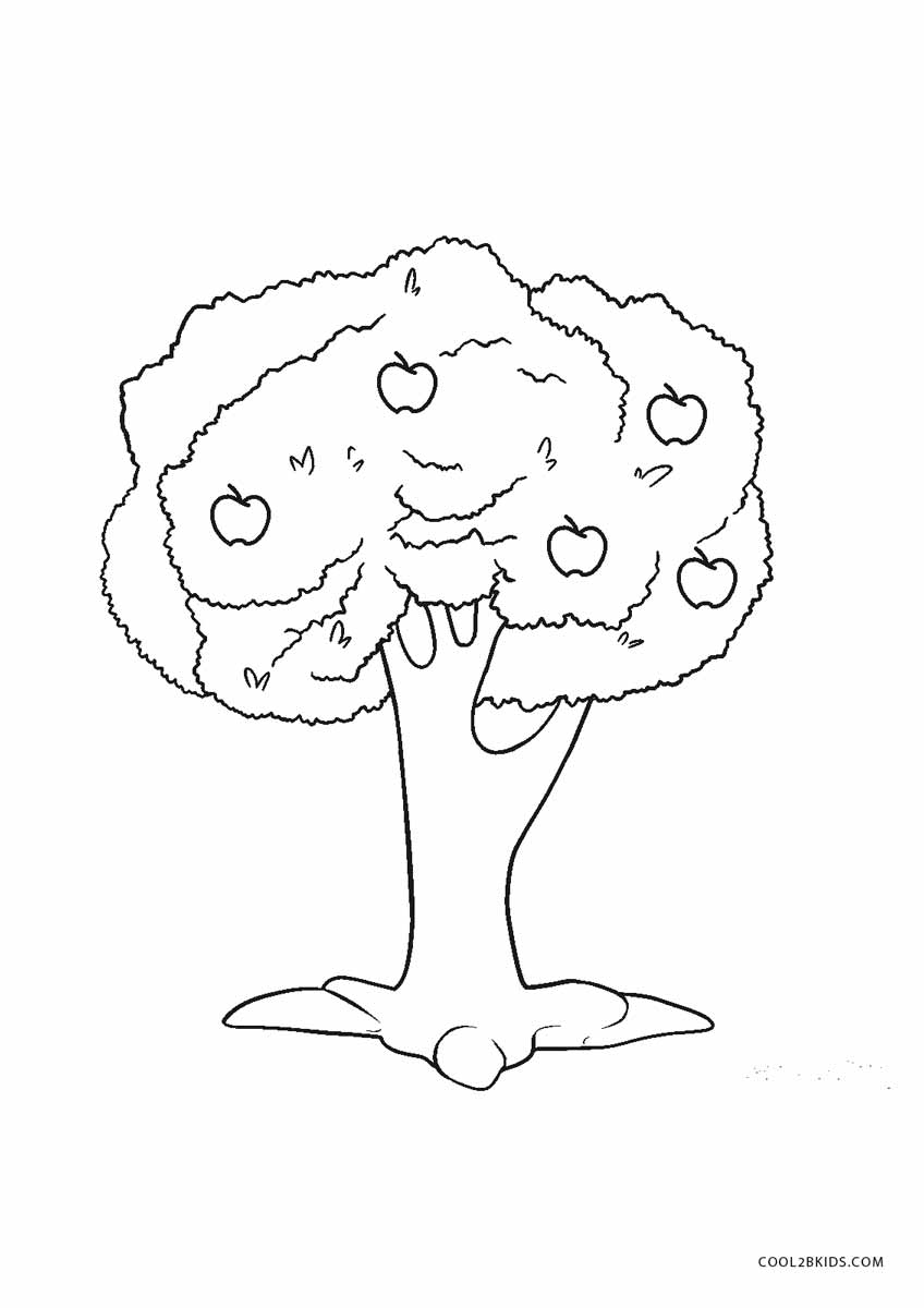 coloring trees free printable tree coloring pages for kids cool2bkids coloring trees 1 4