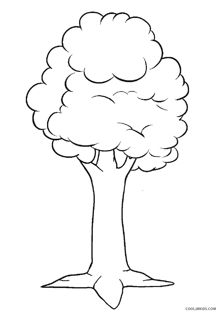 coloring trees free printable tree coloring pages for kids trees coloring 1 1
