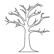coloring trees top 25 tree coloring pages for your little ones coloring trees 1 1