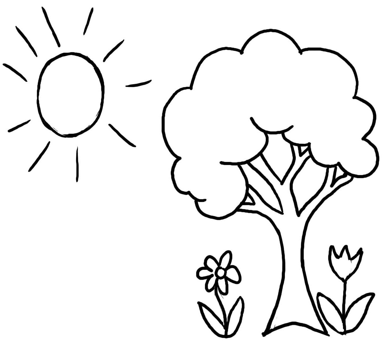 coloring trees tree coloring pages free printable online tree coloring trees coloring