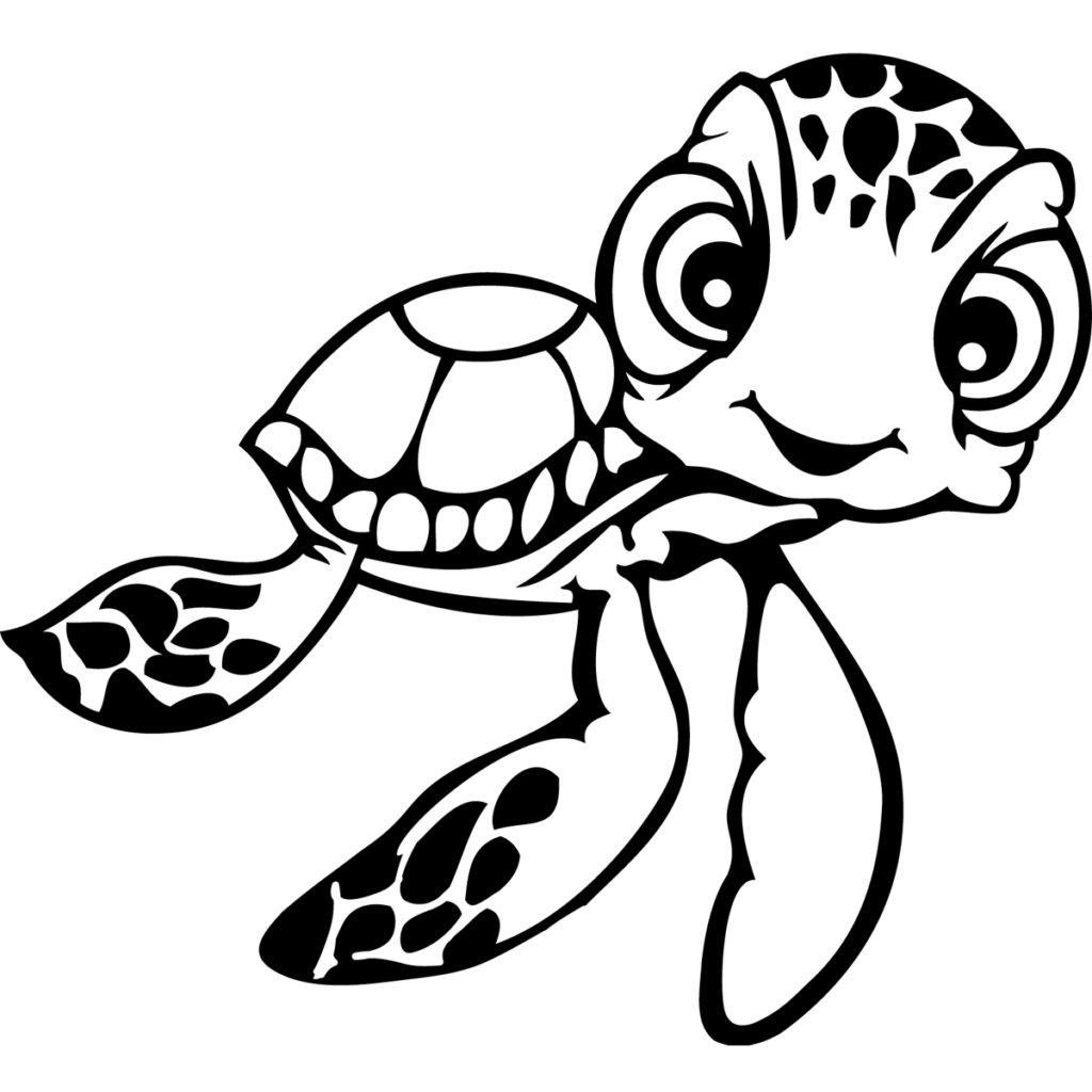 coloring turtles turtle outline drawing at getdrawings free download coloring turtles