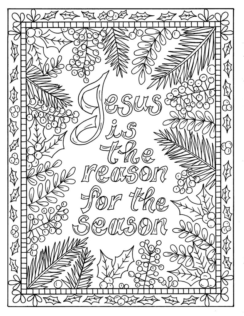 coloring xmas 5 christian coloring pages for christmas color book xmas coloring